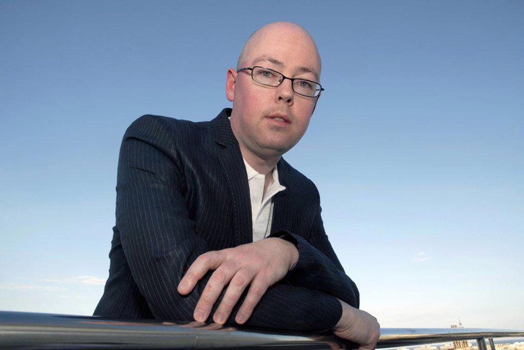 BOYNE, John. Irish writer. Barcelona, apr. 08. : Stock Photo
