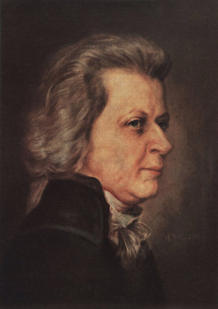 Stock Photo: 4409-50175 MOZART, JOHANN WOLFGANG AMADEUS.