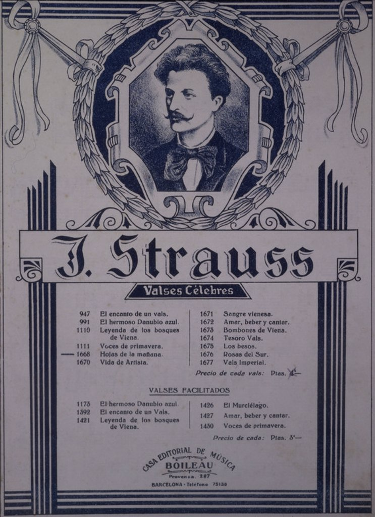Stock Photo: 4409-50319 STRAUSS, JOHANN.