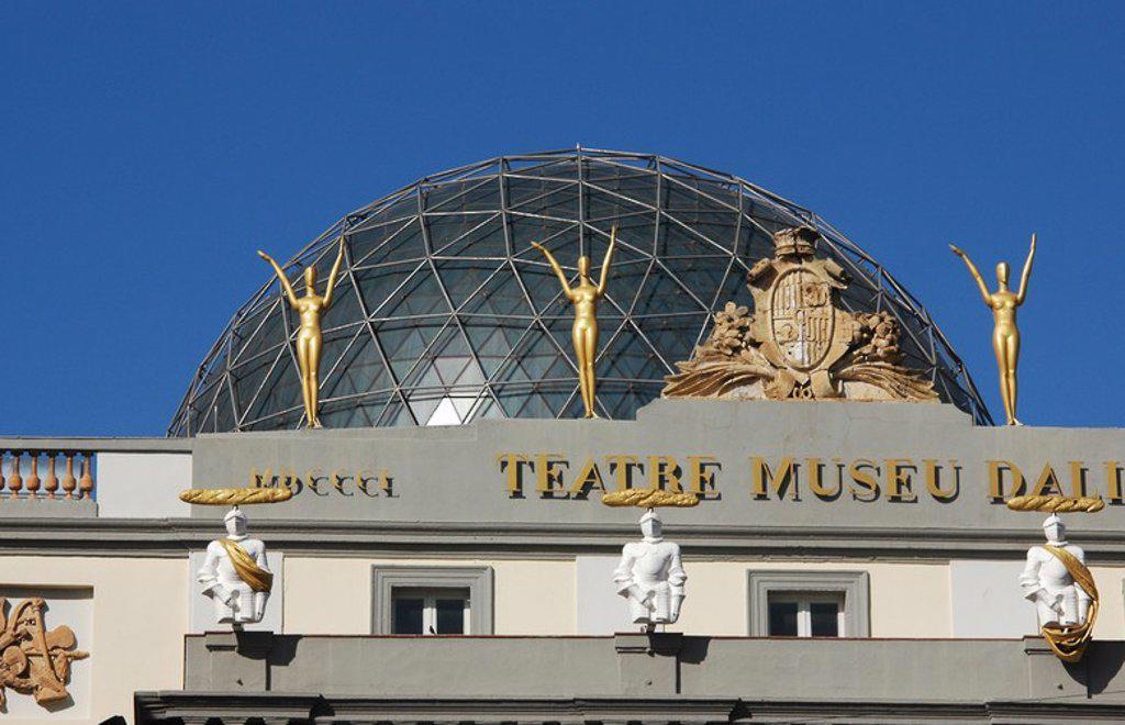 Stock Photo: 4409-53114 MUSEO DALI. Instalado en el antiguo teatro municipal, edificado en el s. XIX. FIGUERES. Comarca de l'Alt Empordà. Provincia de Girona. Cataluña.
