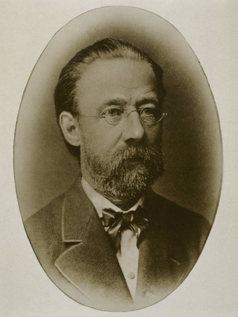 SMETANA, Bedrich (Litomysl,1824-Praga,1884). Compositor checo. : Stock Photo