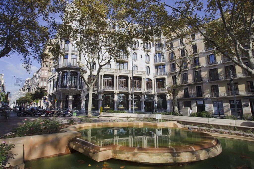 Stock Photo: 4409-54602 Casa Fuster. Eixample. Barcelona.