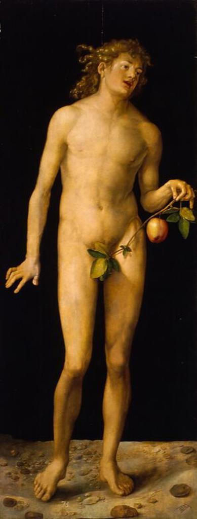 'Adán'. Óleo sobre tabla. 1507. : Stock Photo