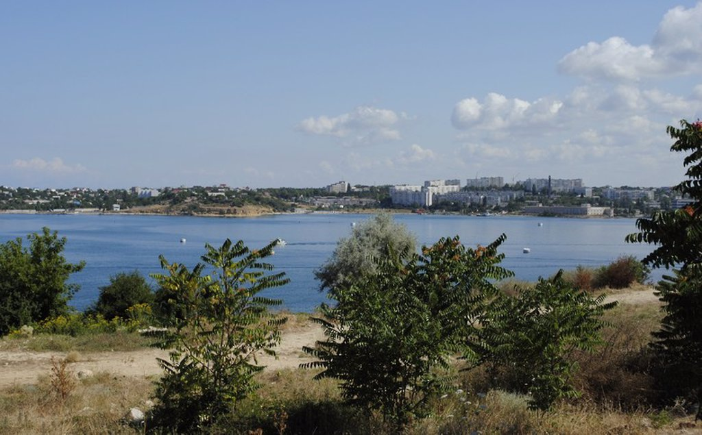 Ukraine. Sevastopol. Panorama. : Stock Photo