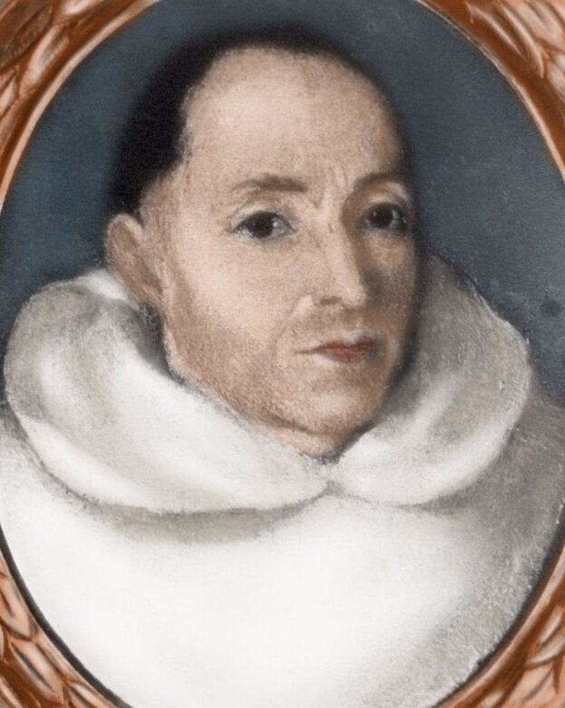 Stock Photo: 4409-62379 Tirso de Molina (1579-1648). Spanish Barroque dramatist, poet and roman catholic monk.  Spanish Golden Age. Colored engraving.