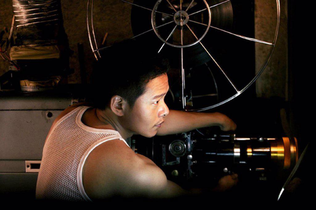Stock Photo: 4409-85800 Original Film Title: BU SAN. English Title: GOOD BYE, DRAGON INN. Film Director: TSAI MING-LIANG. Year: 2003.