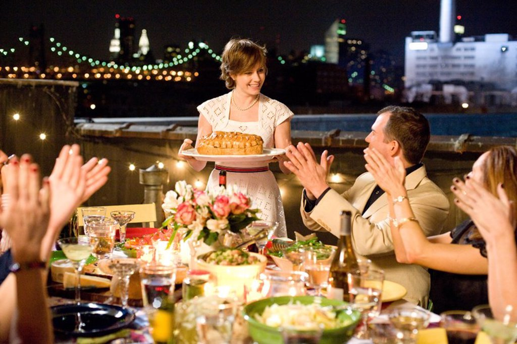 Original Film Title: JULIE & JULIA. English Title: JULIE & JULIA. Film Director: NORA EPHRON. Year: 2009. Stars: AMY ADAMS. : Stock Photo