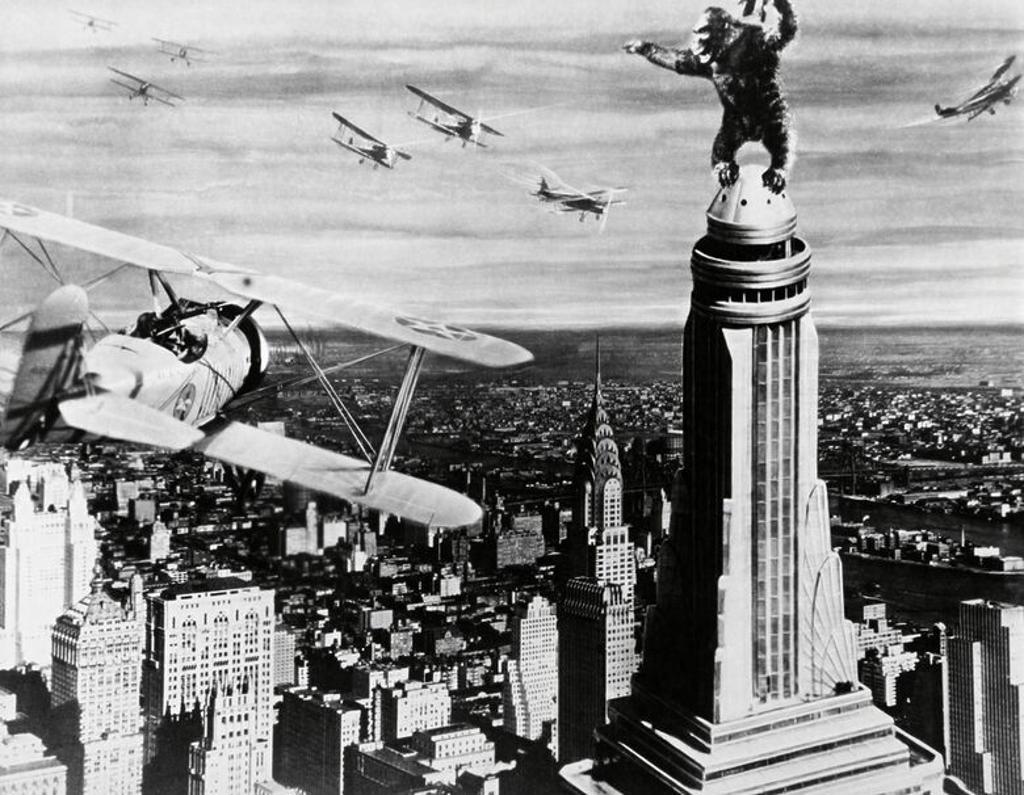 Stock Photo: 4409-91496 Original Film Title: KING KONG. English Title: KING KONG. Film Director: MERIAN C. COOPER; ERNEST B. SCHOEDSACK. Year: 1933.