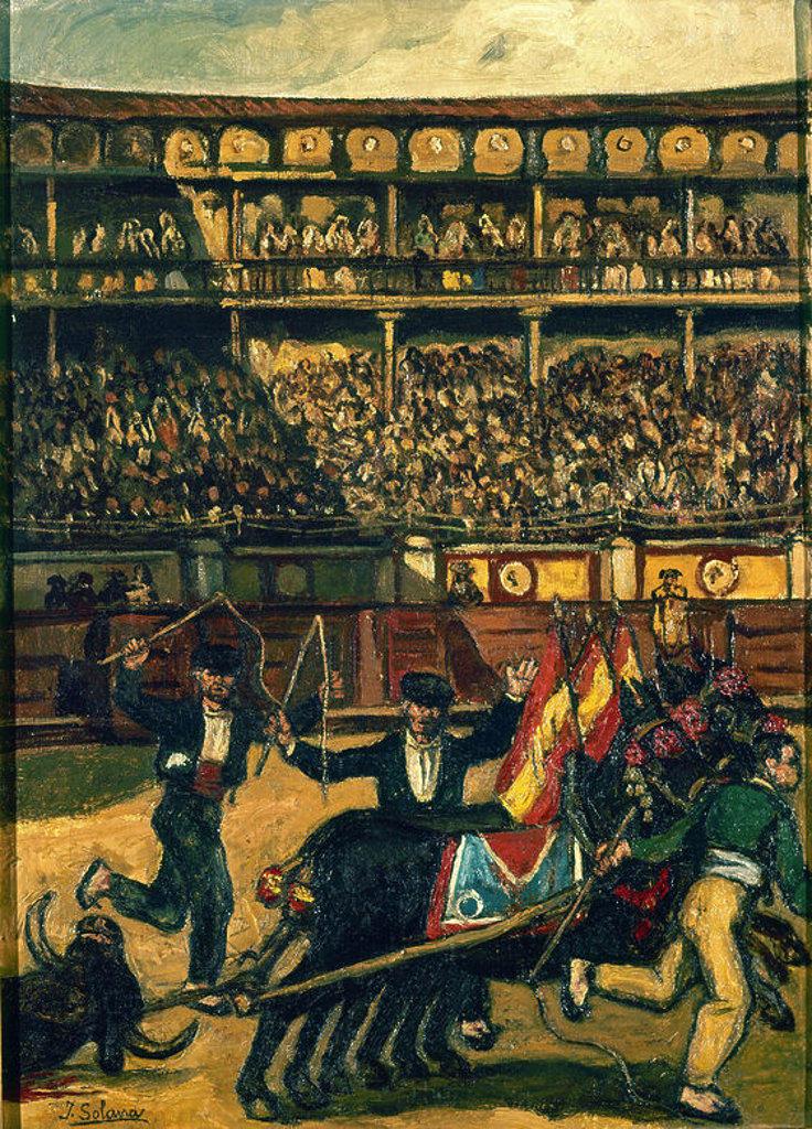 Stock Photo: 4409-9222 LAS MULILLAS, 1904, O/L 68,5x49,5. Author: GUTIERREZ SOLANA, JOSE. Location: PRIVATE COLLECTION, MADRID.