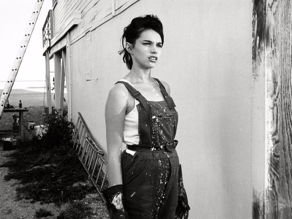 Original Film Title: 37°2 LE MATIN. English Title: BETTY BLUE. Film Director: JEAN-JACQUES BEINEIX. Year: 1986. Stars: BEATRICE DALLE. : Stock Photo