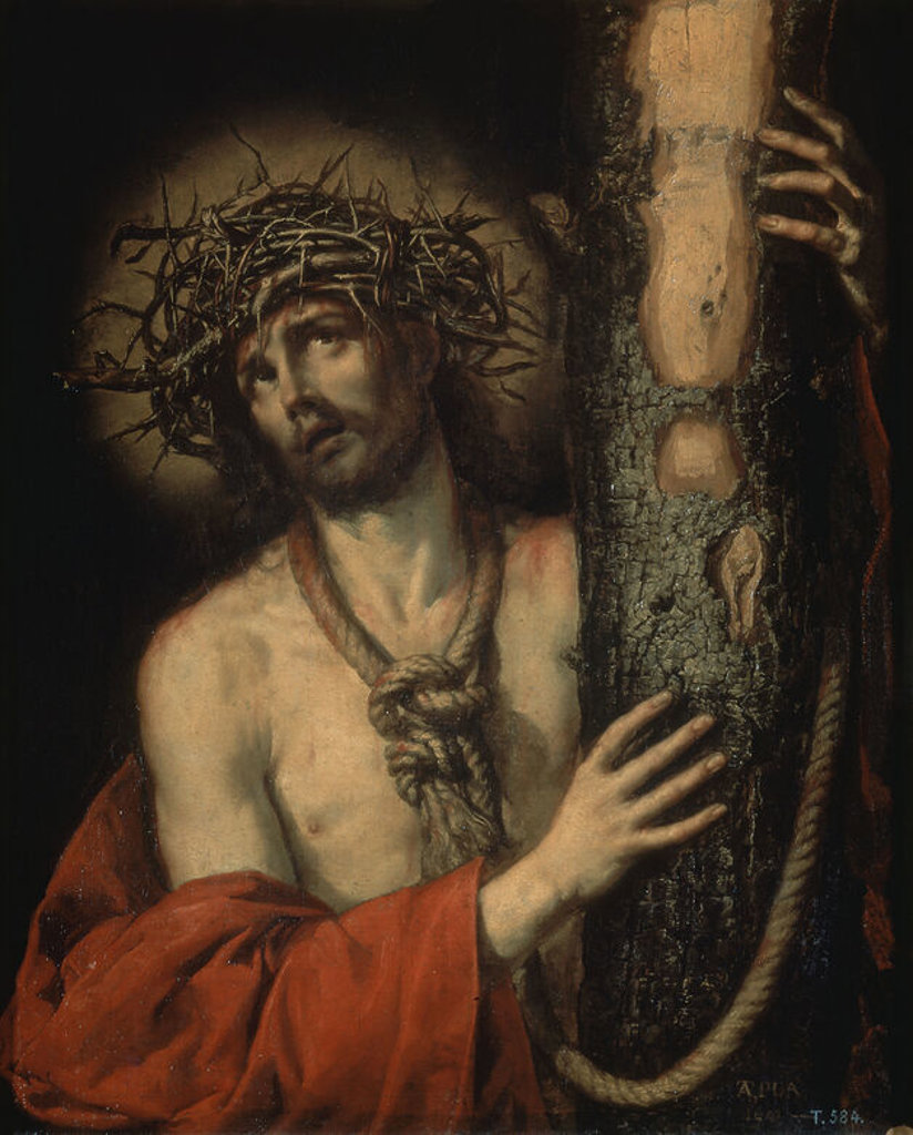 Stock Photo: 4409-9373 CRISTO, VARON DE DOLORES - 1641 - OLEO/LIENZO - 97x78 cm - BARROCO ESPAÑOL - NP 1047. Author: PEREDA, ANTONIO DE. Location: MUSEO DEL PRADO-PINTURA, MADRID, SPAIN.
