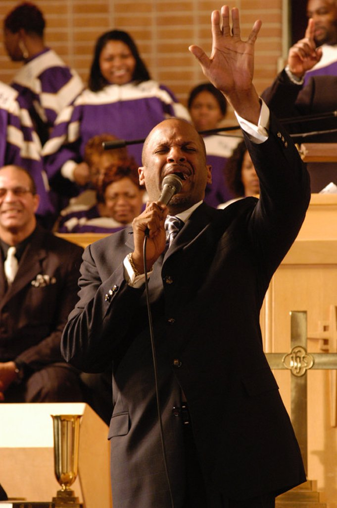 Stock Photo: 4409-94080 Original Film Title: THE GOSPEL. English Title: THE GOSPEL. Film Director: ROB HARDY. Year: 2005. Stars: DONNIE MCCLURKIN.