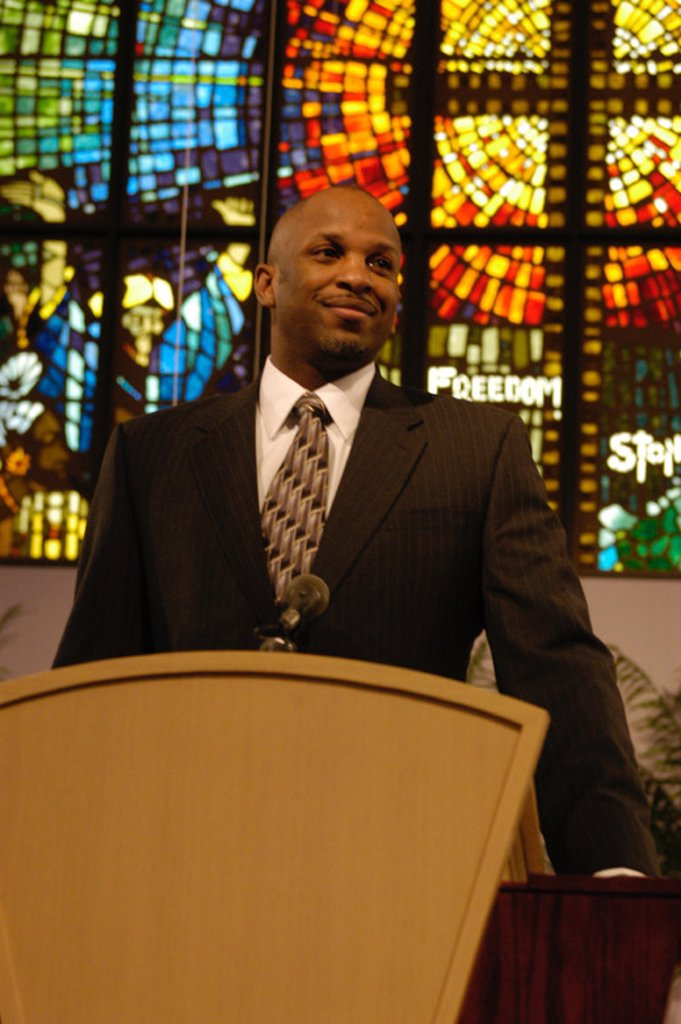 Original Film Title: THE GOSPEL. English Title: THE GOSPEL. Film Director: ROB HARDY. Year: 2005. Stars: DONNIE MCCLURKIN. : Stock Photo