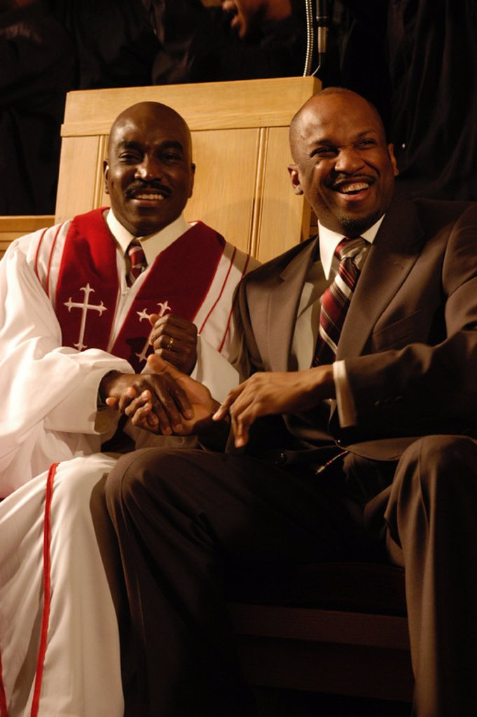 Original Film Title: THE GOSPEL. English Title: THE GOSPEL. Film Director: ROB HARDY. Year: 2005. Stars: DONNIE MCCLURKIN; CLIFTON POWELL. : Stock Photo