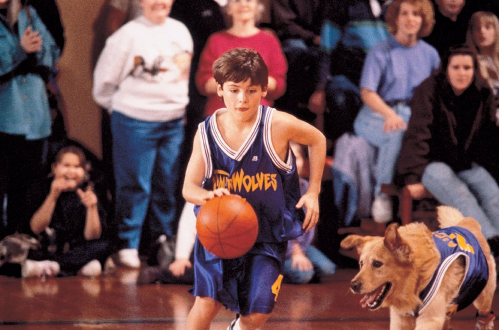 Stock Photo: 4409-94822 Original Film Title: AIR BUD. English Title: AIR BUD. Film Director: CHARLES MARTIN SMITH. Year: 1997. Stars: KEVIN ZEGERS.