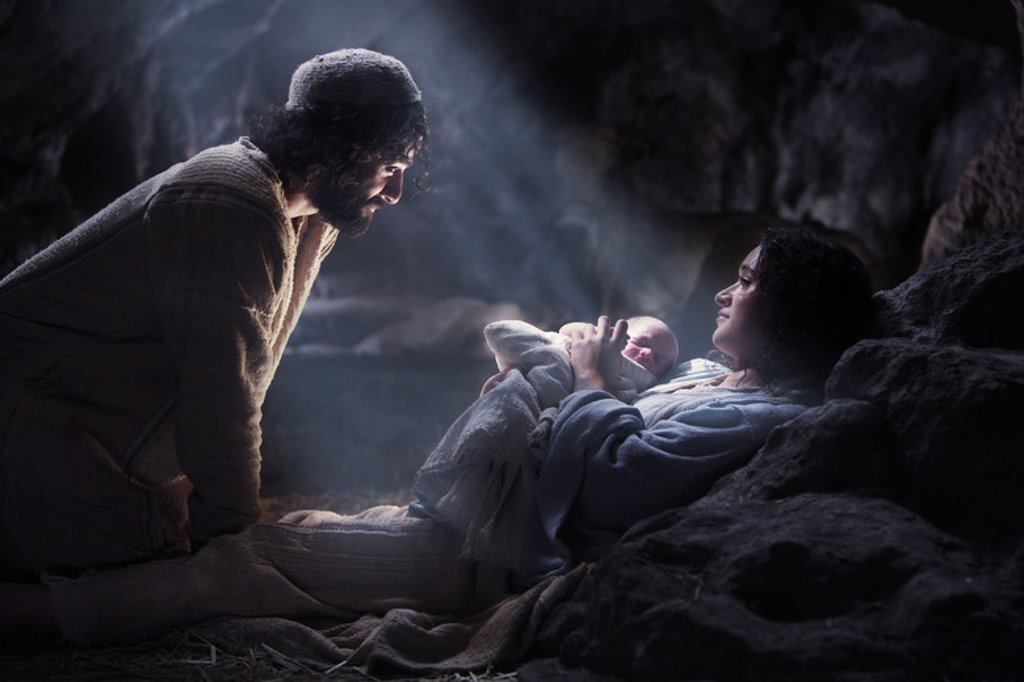 Original Film Title: THE NATIVITY STORY. English Title: NATIVITY. Film Director: CATHERINE HARDWICKE. Year: 2006. Stars: JOSEF (VATER JESU); KEISHA CASTLE-HUGHES; OSCAR ISAAC. : Stock Photo