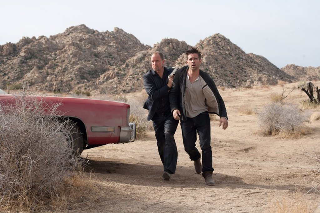 Stock Photo: 4409-96540 Original Film Title: SEVEN PSYCHOPATHS. English Title: SEVEN PSYCHOPATHS. Film Director: MARTIN MCDONAGH. Year: 2012. Stars: WOODY HARRELSON; COLIN FARRELL.