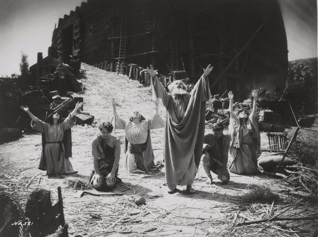 Original Film Title: NOAH'S ARK. English Title: NOAH'S ARK. Film Director: MICHAEL CURTIZ. Year: 1928. Stars: PAUL MCALLISTER. : Stock Photo