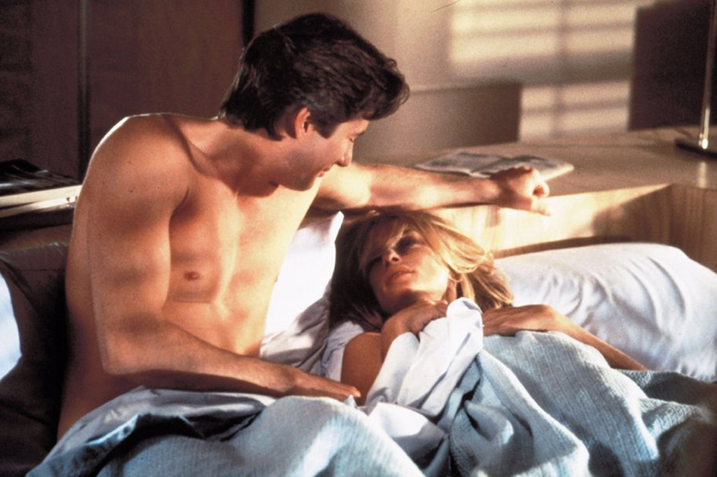 Original Film Title: AMERICAN GIGOLO. English Title: AMERICAN GIGOLO. Film Director: PAUL SCHRADER. Year: 1980. Stars: RICHARD GERE; LAUREN HUTTON. : Stock Photo
