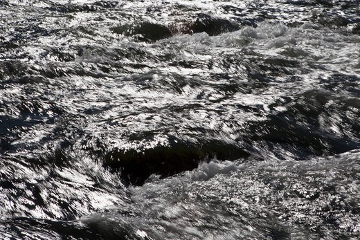 Deschutes river, Oregon, USA,Close-up Of Rapid Water : Stock Photo