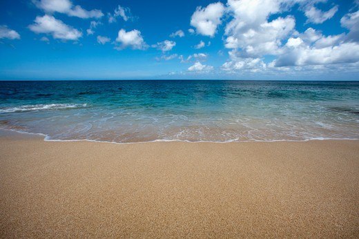 Stock Photo: 4411-6736 Keiki Beach, North Shore, Oahu,Keiki Beach, Hawaii