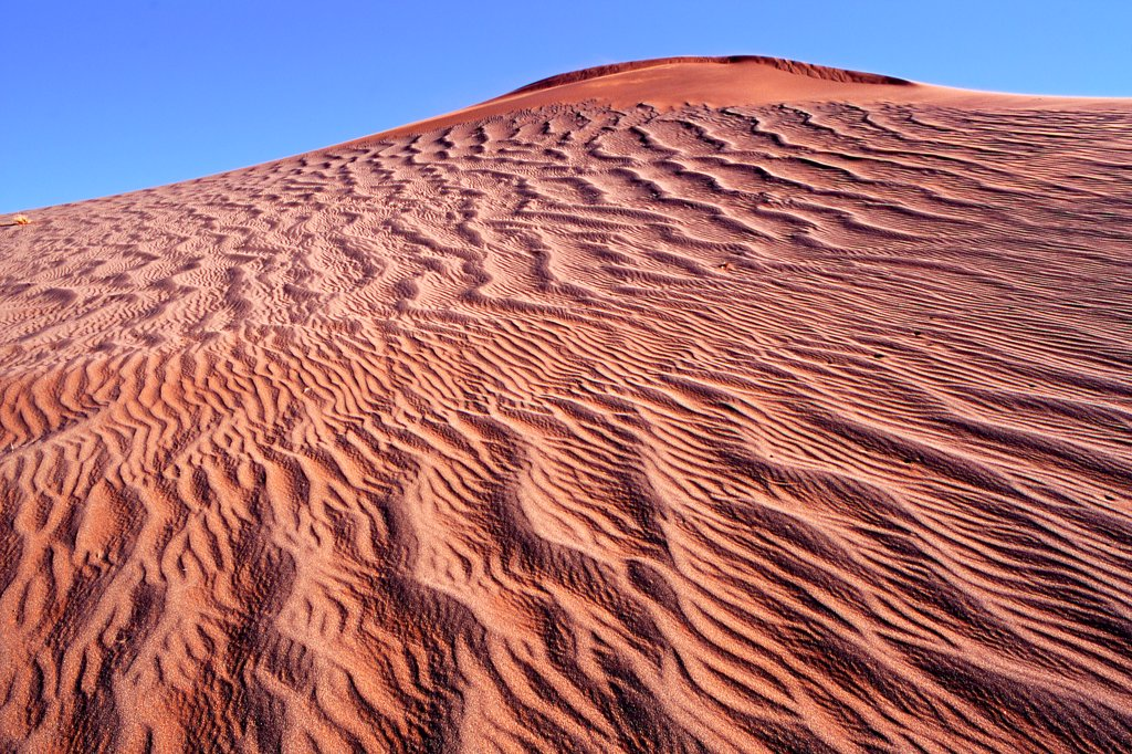 Stock Photo: 4413-204523 Red sand dune Sossusvlei Namibia