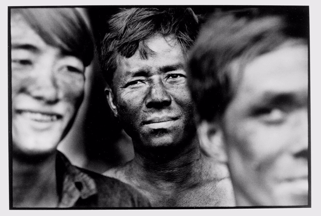 Stock Photo: 4413-29548 Miners' portrait mines Hectare Tu Vietnam
