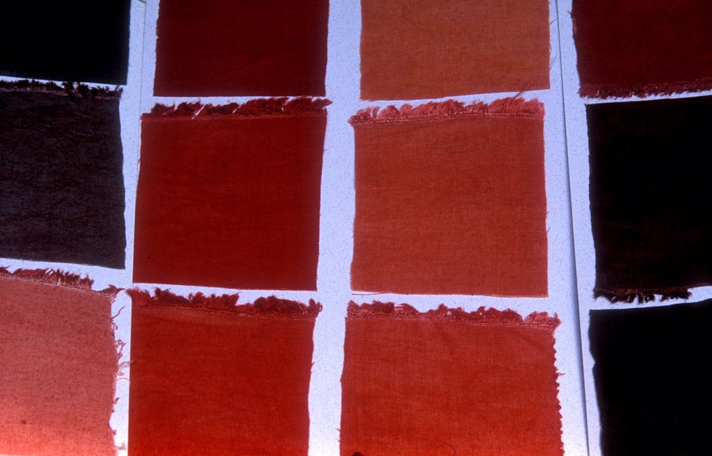 Stock Photo: 4413-78083 Color cotton dyed Garance Provence France