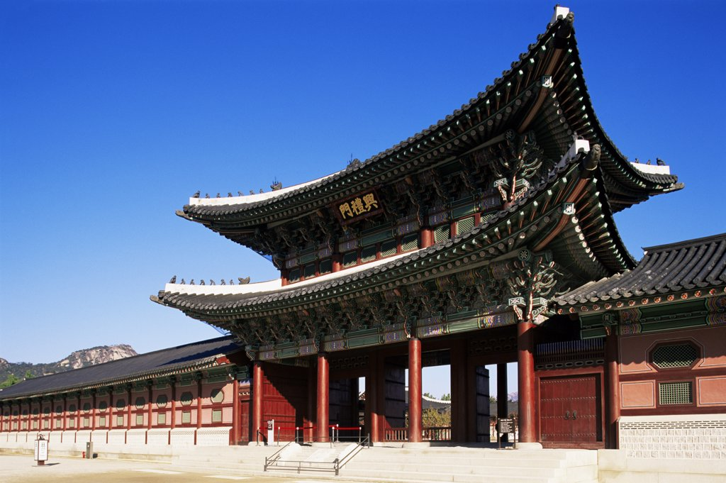 Stock Photo: 442-10099 Heungnyemun Gate