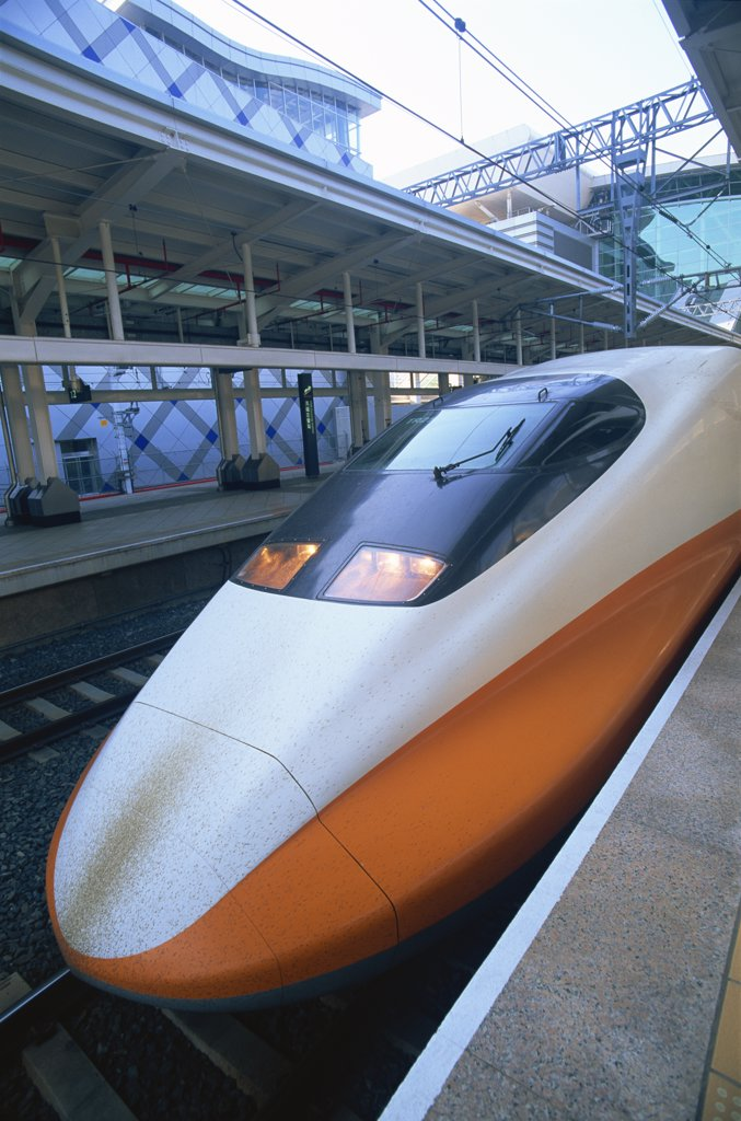 Taiwan,Kaohsiung,High Speed Rail,HSR Train : Stock Photo
