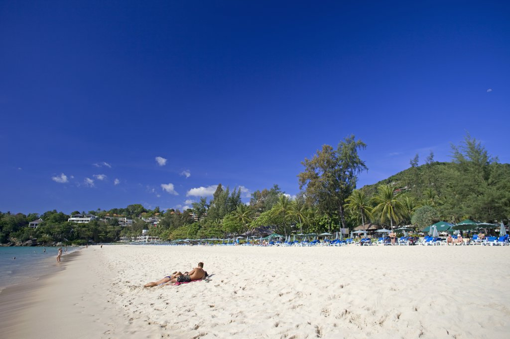 Thailand,Phuket,Kata Noi Beach : Stock Photo