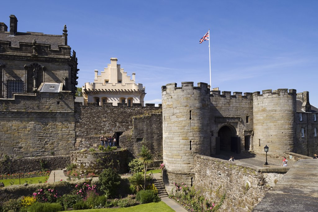 Stock Photo: 442-10898B Scotland, Central Region, Stirling, Stirling Castle