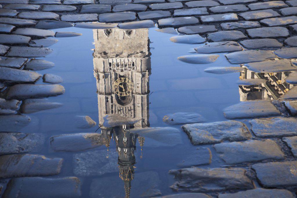 Stock Photo: 442-11773A Belgium, Ghent, The Belfort