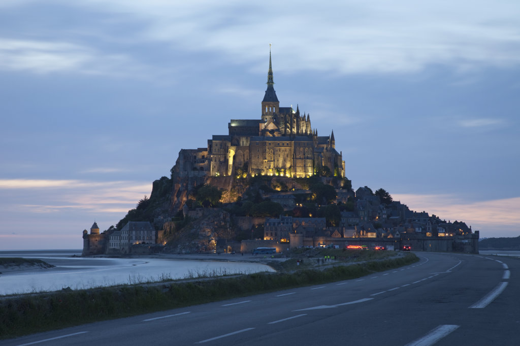 France, Normandy, Mont St.Michel : Stock Photo