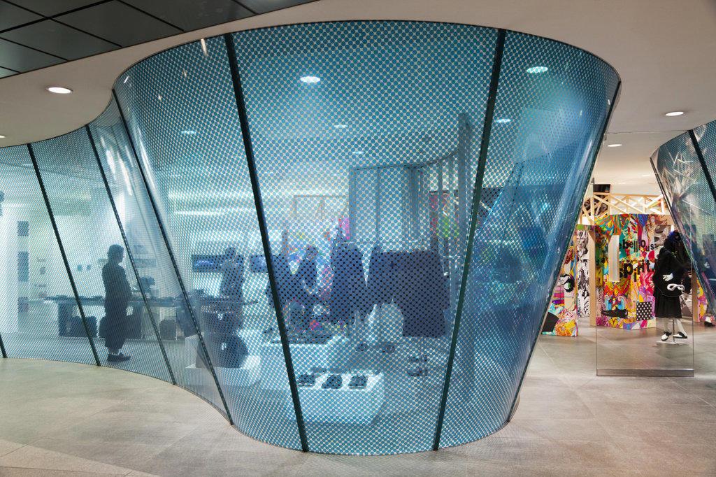 Stock Photo: 442-36457 Interiors of a shopping mall, Comme De Garcons, Minami-Aoyama, Tokyo, Japan