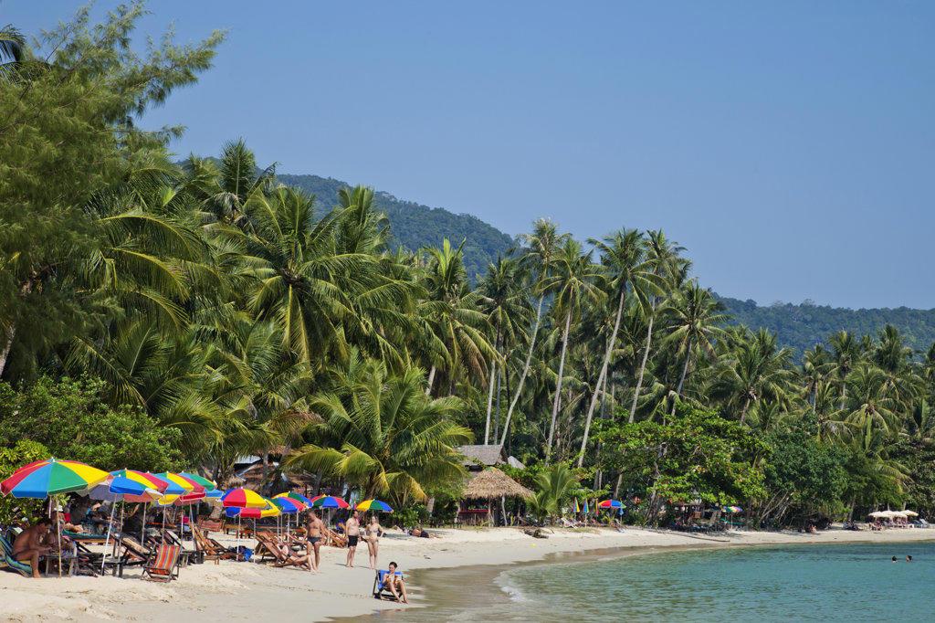 Stock Photo: 442-37365 Thailand,Trat Province,Koh Chang,Khong Koi Beach