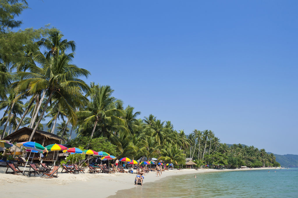 Stock Photo: 442-37366 Thailand,Trat Province,Koh Chang,Khong Koi Beach