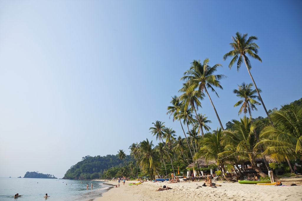 Stock Photo: 442-37370 Thailand,Trat Province,Koh Chang,Lonely Beach