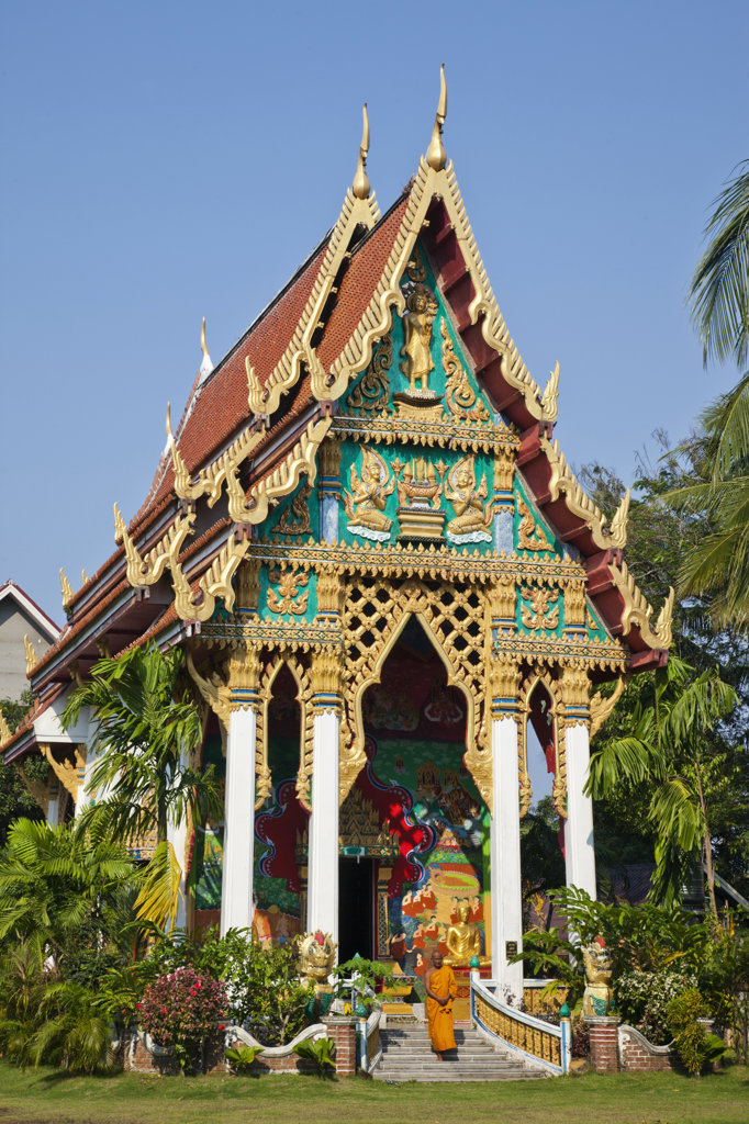 Stock Photo: 442-37382 Thailand,Trat Province,Koh Chang,Wat Klong Prao