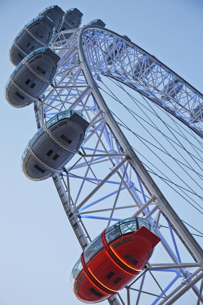 Stock Photo: 442-37437 UK, London, London Eye