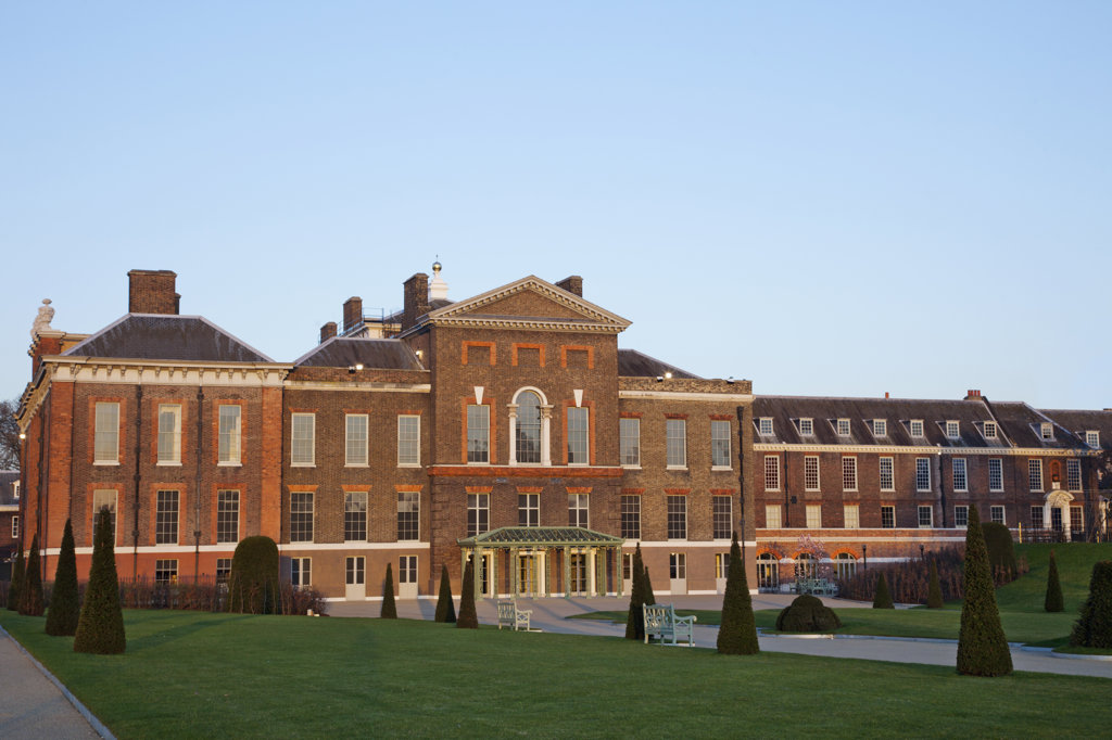 UK, London, Kensington, Kensington Palace : Stock Photo