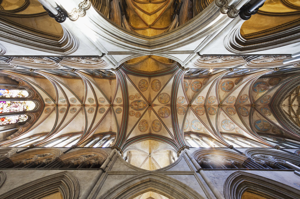 Stock Photo: 442-37724 UK, England, Hampshire, Salisbury, Salisbury Cathedral