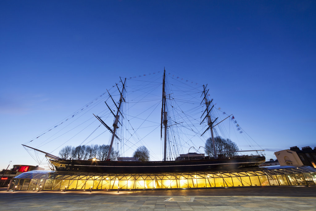 England,London,Greenwich,Cutty Sark : Stock Photo