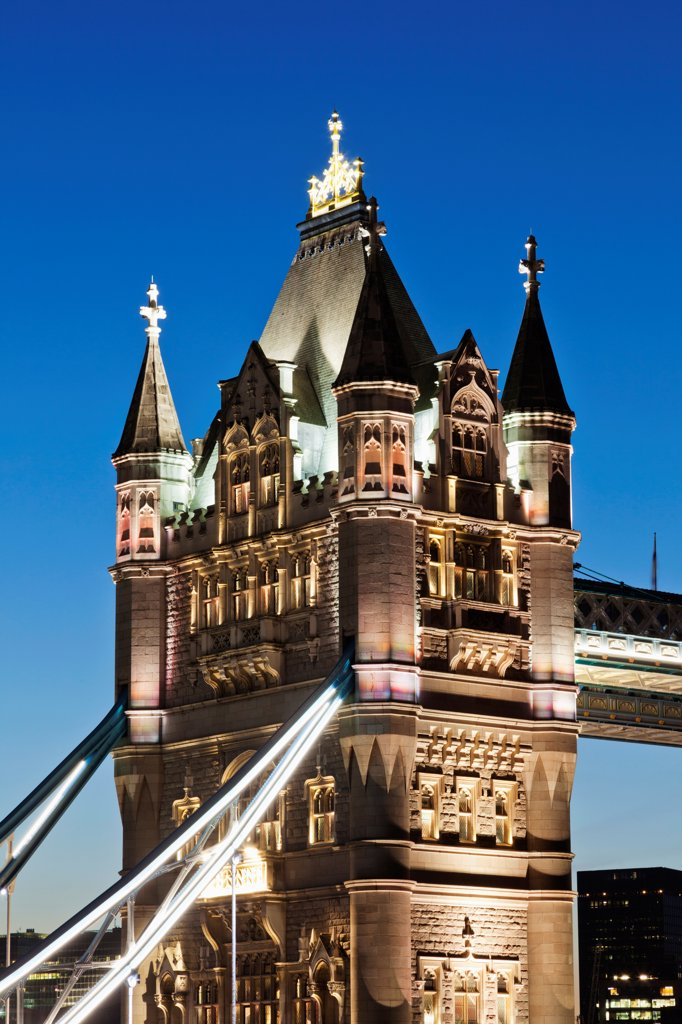 UK, England, London, Southwark, Tower Bridge : Stock Photo