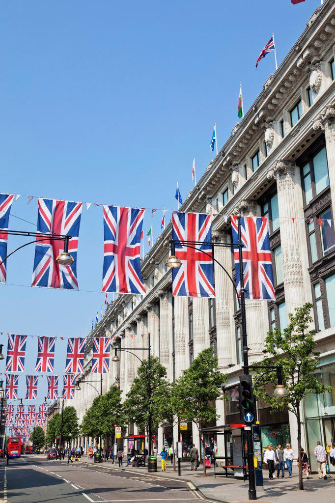 Stock Photo: 442-37937 UK, England, London, Oxford Street