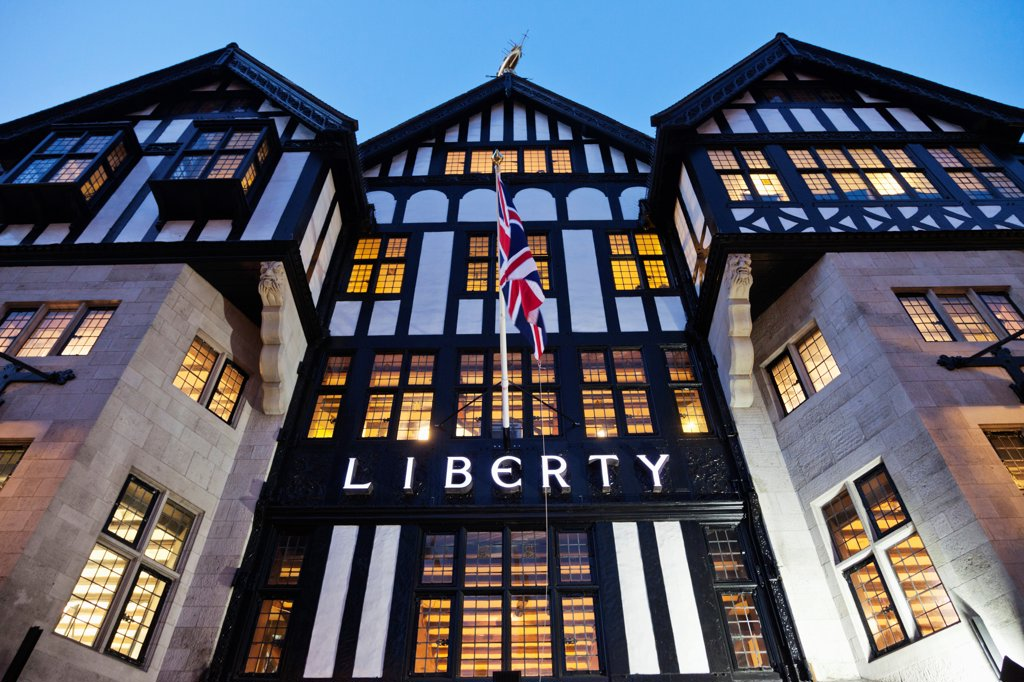 Stock Photo: 442-37939 UK, England, London, Liberty Department Store