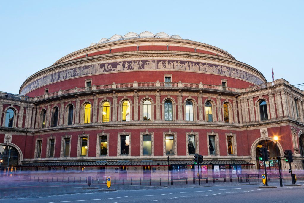 England, London, Kensington, Royal Albert Hall : Stock Photo