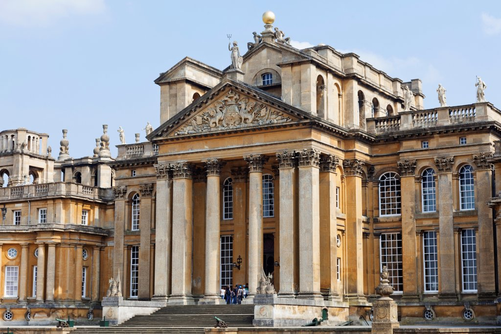Stock Photo: 442-38129 England, Oxfordshire, Woodstock, Blenheim Palace