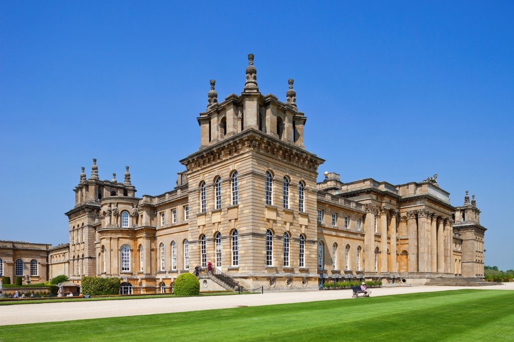 Stock Photo: 442-38130 England, Oxfordshire, Woodstock, Blenheim Palace