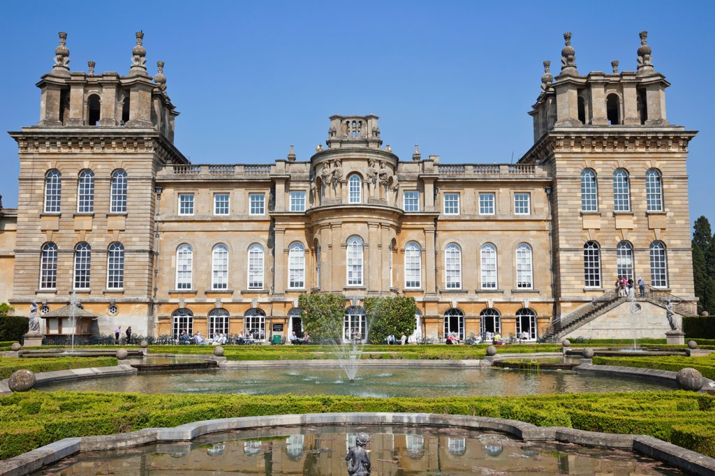Stock Photo: 442-38133 England, Oxfordshire, Woodstock, Blenheim Palace